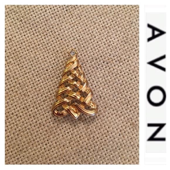 6fa43a4f183 Avon Jewelry   Celtic Knot Ribbon Christmas Tree Pin   Poshmark